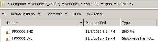 Windows 7: Clear Stuck Print Jobs from Print Queue | Jianming Li