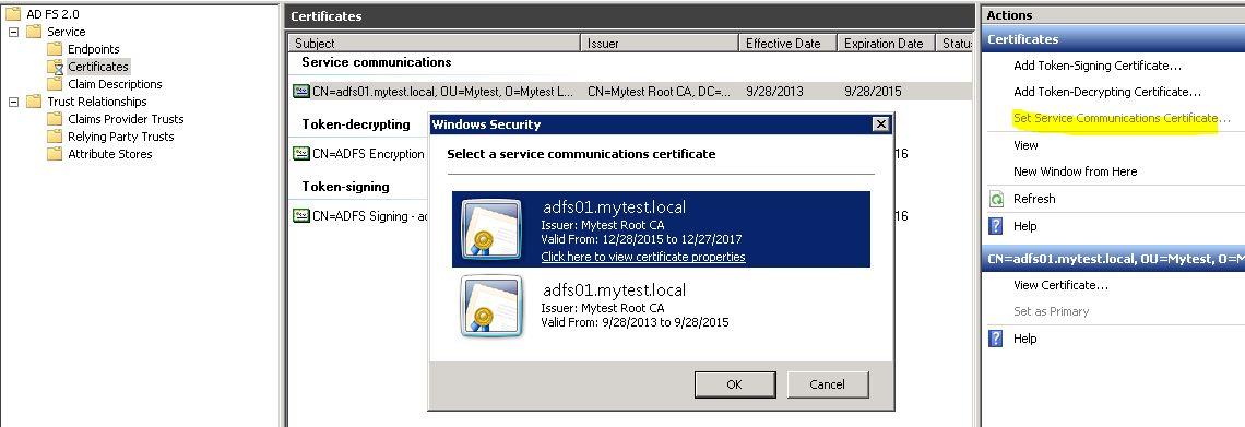 ADFS 2 0 Install | Jianming Li